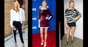 Blake Lively consiga o look