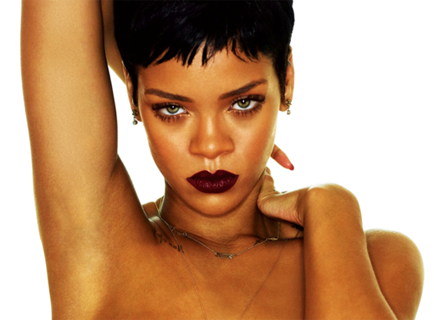 Rihanna, a rainha da beleza