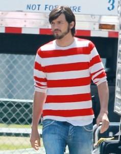 O ator Ashton Kutcher acaba no hospital por insuficiência alimentar
