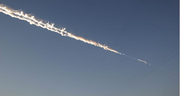 Meteorito cai na Rússia