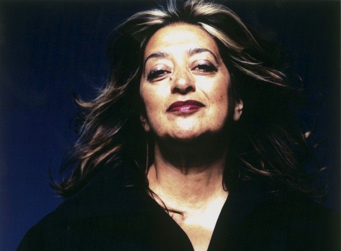 Zaha Hadid - a primeira mulher a receber o prémio Pritzker