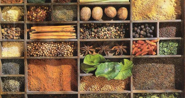 Ervas e especiarias para uma vida saudável