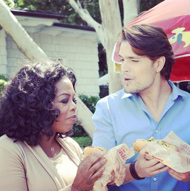 Entrevista de Diogo Morgado com Oprah Winfrey