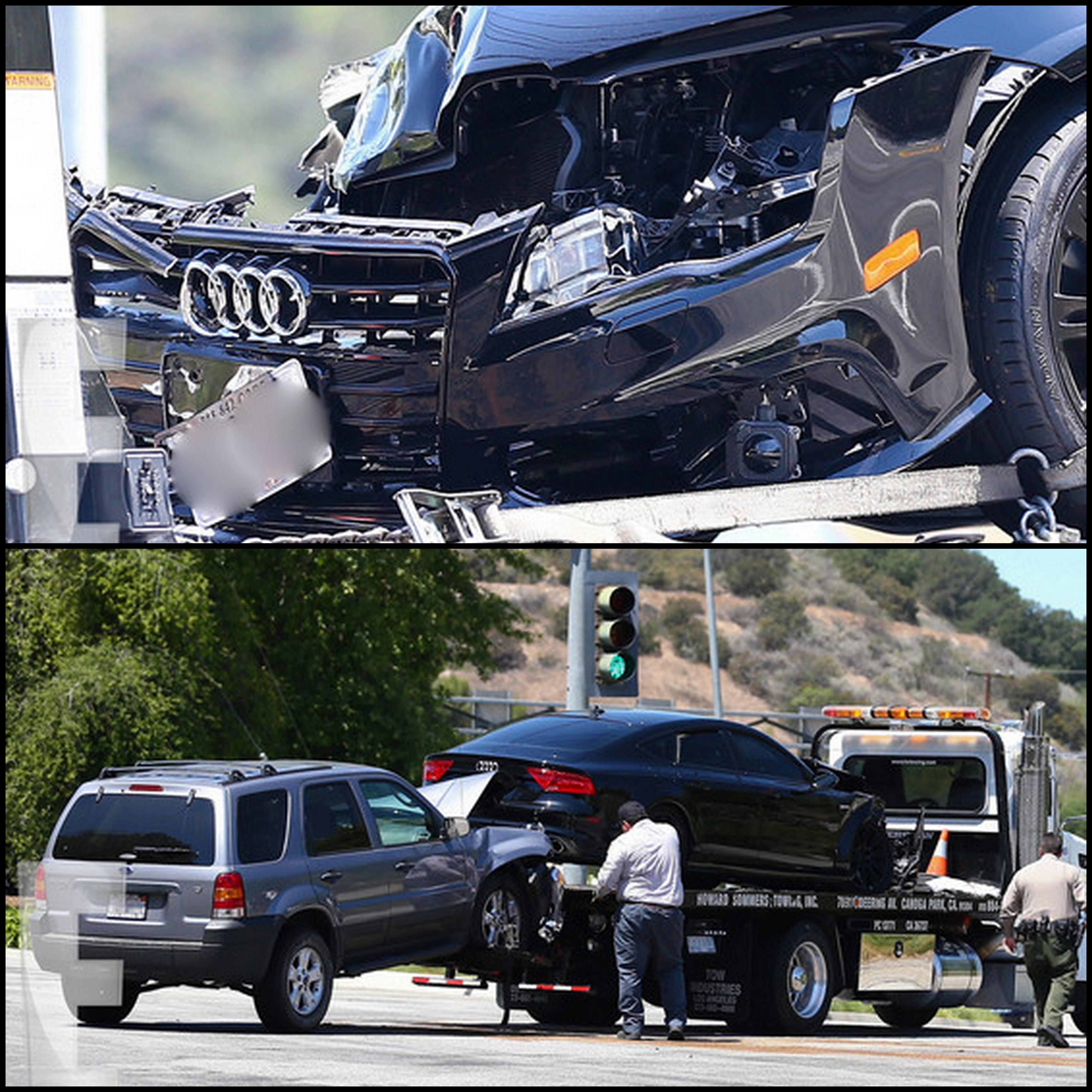 Kendra Wilkinson hospitalizada depois de acidente