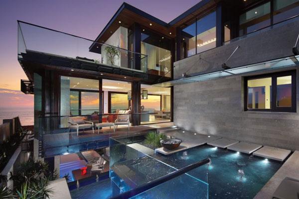 Uma casa de luxo em Dana Point