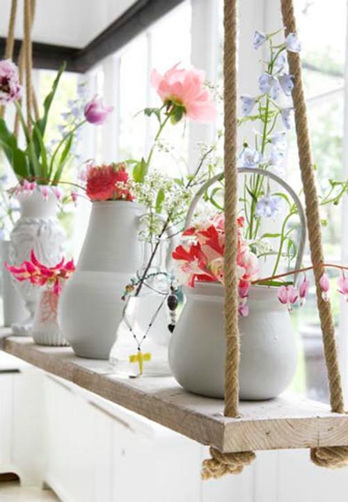 Inspire-se com flores na decoração