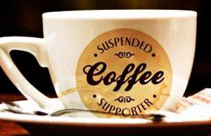 Cafés Suspensos ajudam quem mais necessita