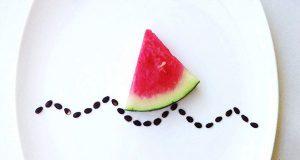 Arte criativa com comida