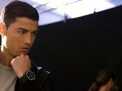 Cristiano Ronaldo faz campanha para marca de relógios