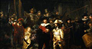 Quadro de Rembrandt ganha vida em centro comercial