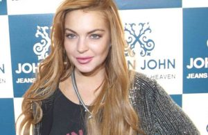 Lindsay Lohan chama atenção por uso de botox