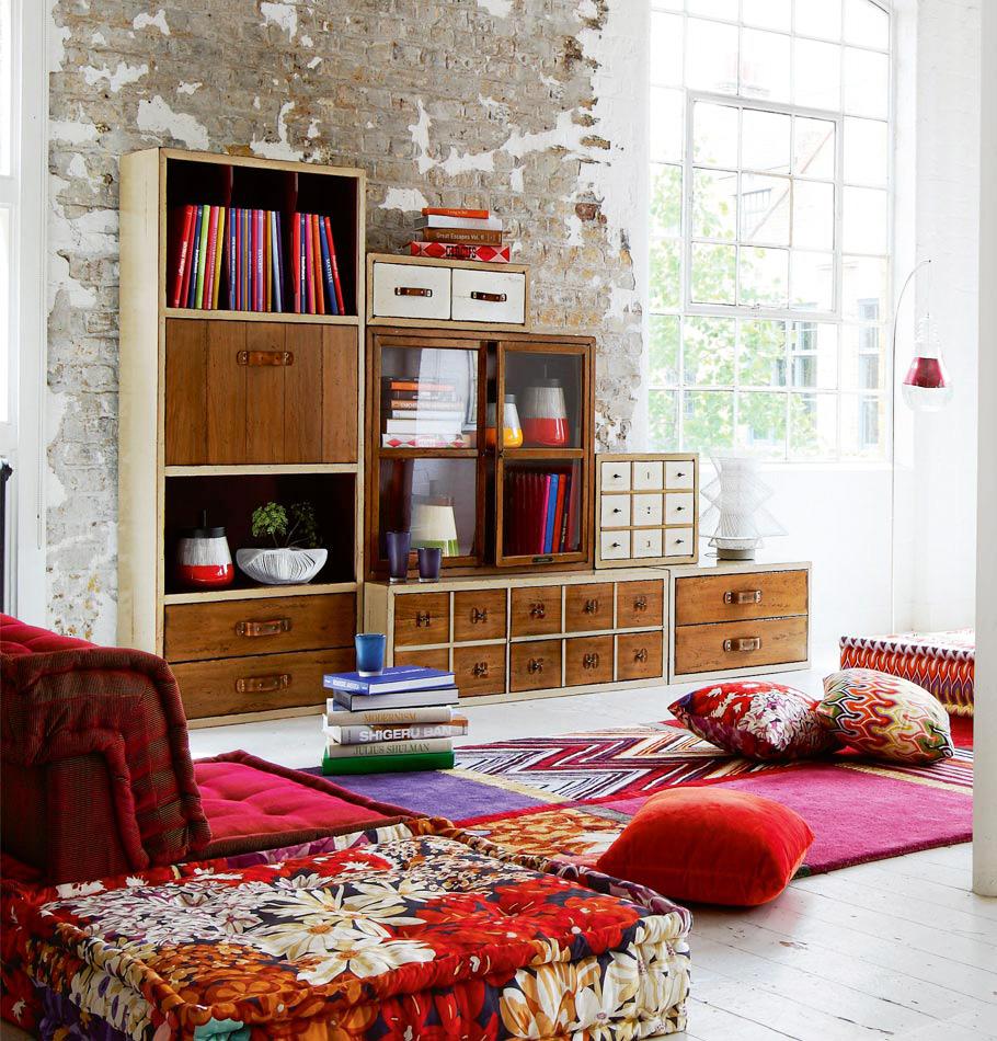 Inspire-se com cores intensas na decoração