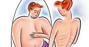 Perda de peso inadequada origina risco de distúrbio alimentar