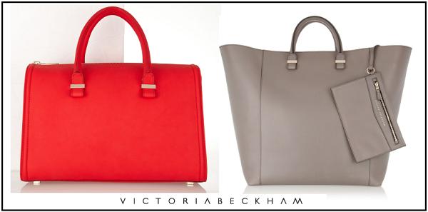 Victoria Beckham desenha malas intemporais de luxo