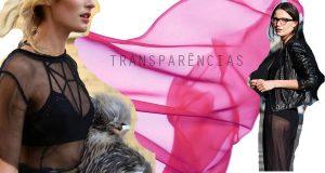 As transparências uma das tendências de primavera verão 2013
