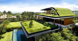Uma casa de luxo na Ilha Sentosa