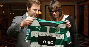 Fernanda Abreu ganha camisola do Sporting