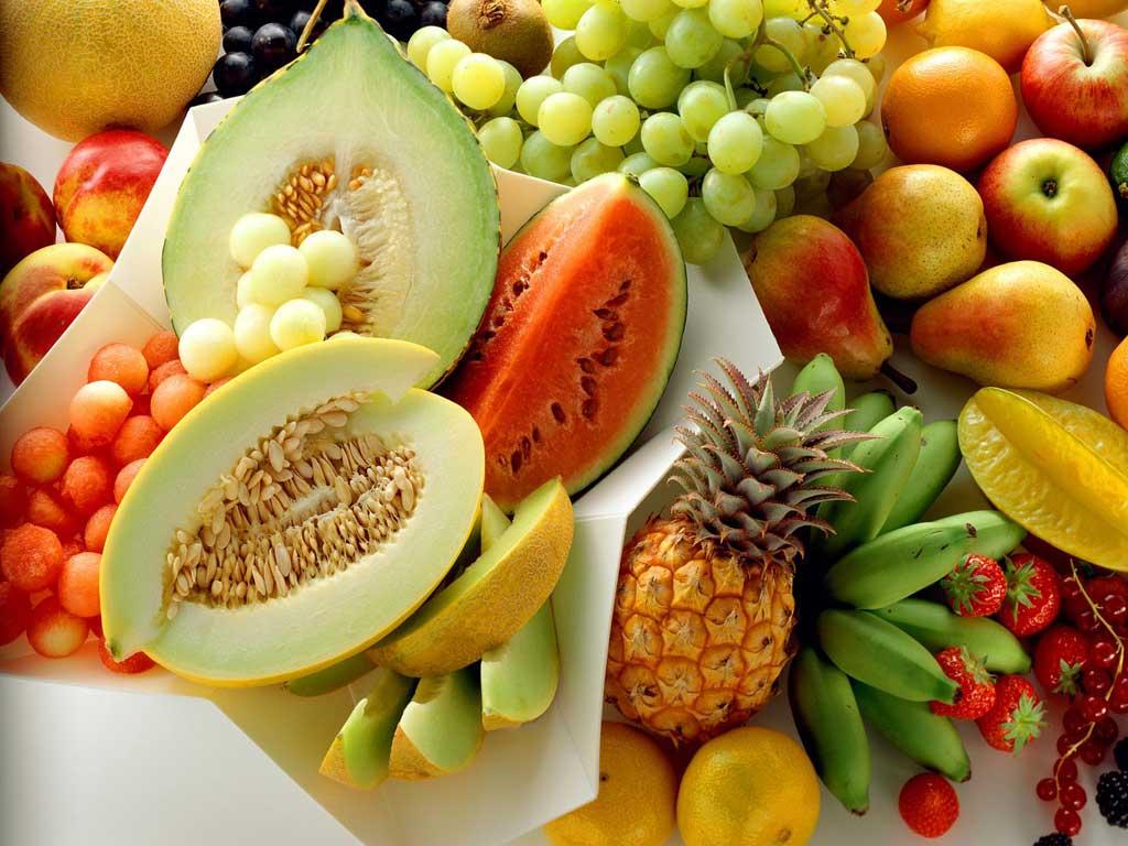 As 25 frutas mais saudáveis