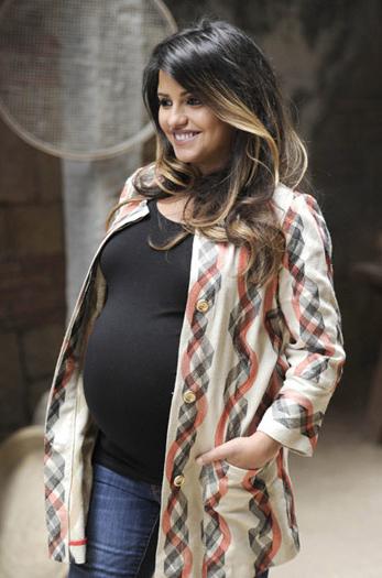 Mónica Cruz foi mãe de uma menina