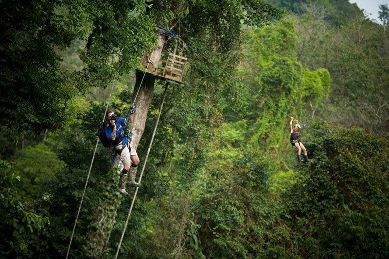 Finca Bellavista na Costa Rica