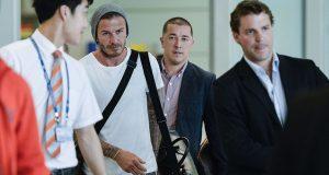 David Beckham faz furor na China