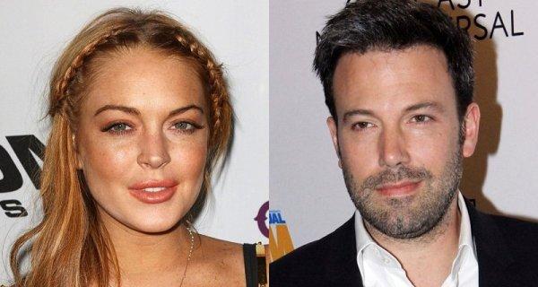 Ben Affleck aconselha Lindsay Lohan durante reabilitação