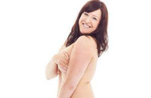 Mulheres sentem-se mais confiantes com a nudez aos 34