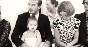 Harper rouba atenções à nova coleção de Victoria Beckham