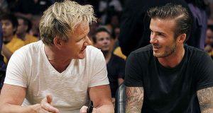 David Beckham desiste de restaurante com Gordon Ramsay