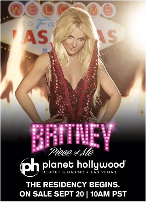 Britney Spears anuncia série de concertos em Las Vegas
