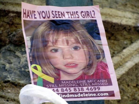 Madeleine pode ter sido raptada segundos antes de Kate entrar em casa
