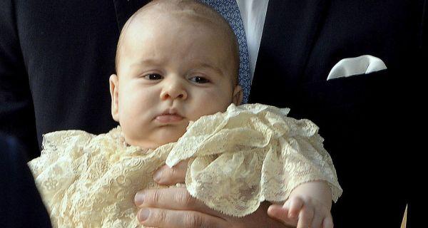 Príncipe George batizado no Palácio de Saint James de Saint James