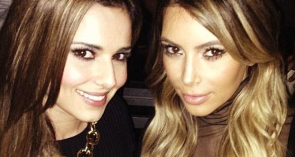 Cheryl Cole torna-se amiga das Kardashians