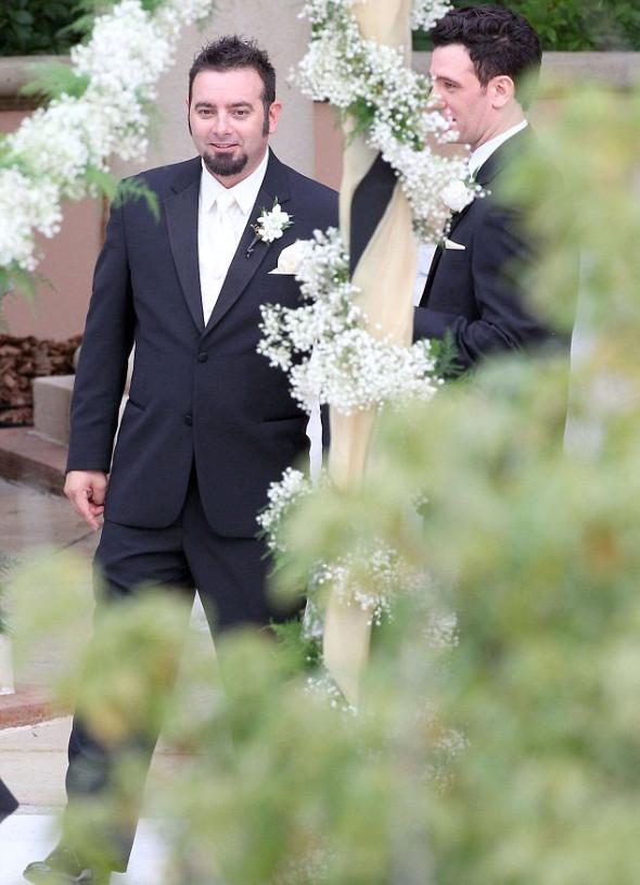Timberlake junta-se ao resto da banda 'NSync para o casamento