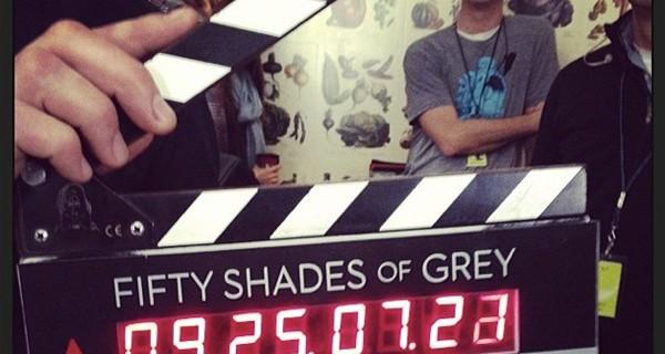Começam as filmagens de Cinquenta Sombras