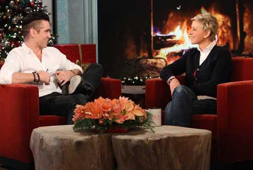 A relação romântica de Colin Farrell e Elizabeth Taylor
