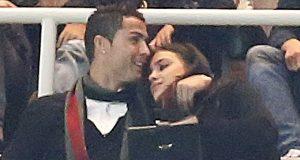 Ronaldo e Irina apanhados nos camarotes