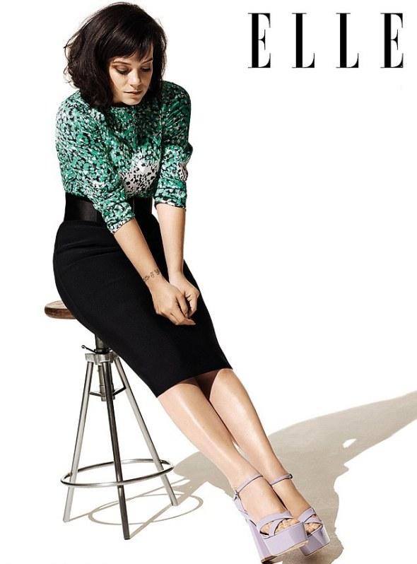 Lily Allen preferia ser como Kate Moss