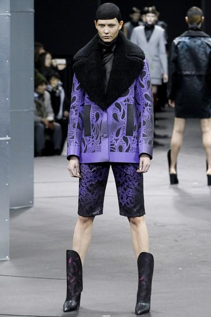 Alexander Wang e os seus casacos multicor