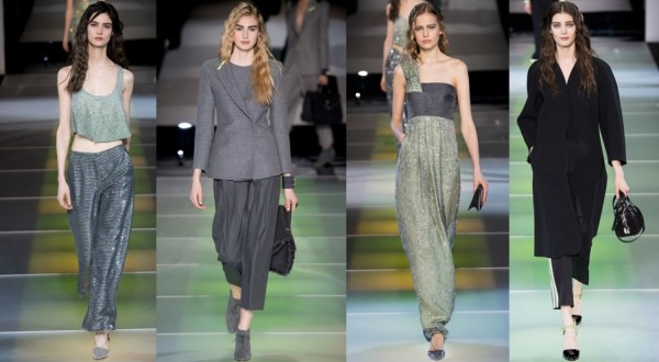 Terminou a semana da Moda de Milão 2014