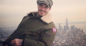 Beckham visita o Empire State Building e as Filipinas