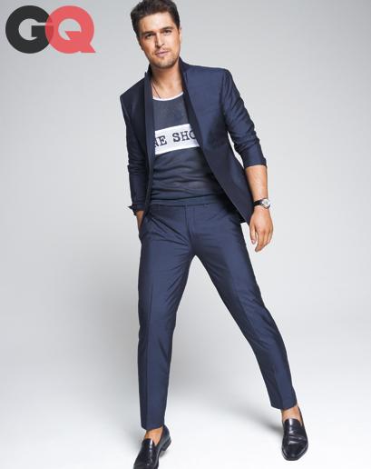 Diogo Morgado mostra aos homens como se vestir