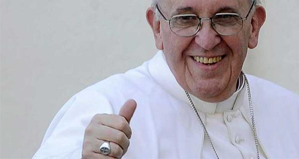 Papa diz um palavrão durante o seu discurso