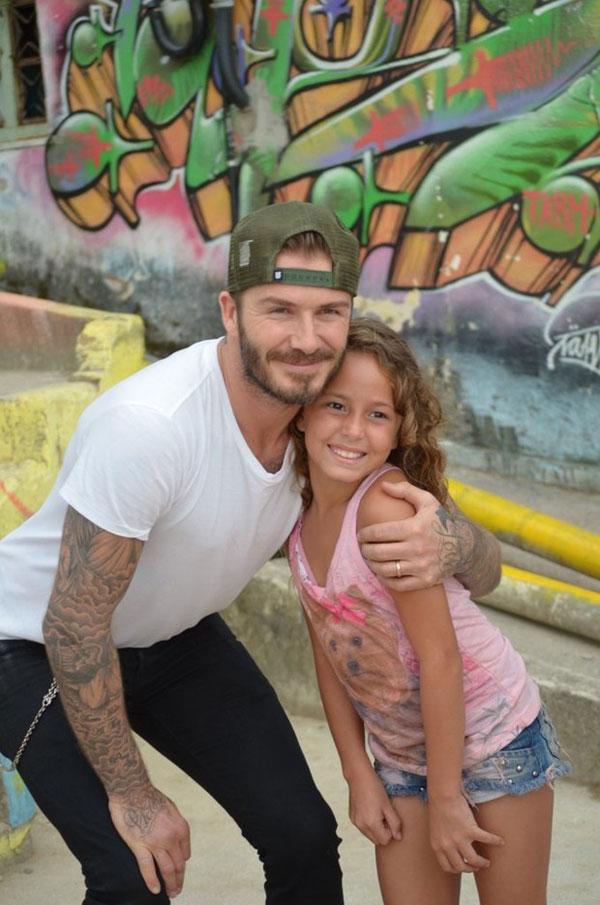 David Beckham participa em anúncio gravado no Rio