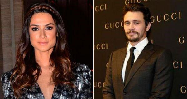 James Franco está a sair com atriz brasileira
