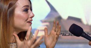 Emma Stone, a aprendiz de Spice Girl