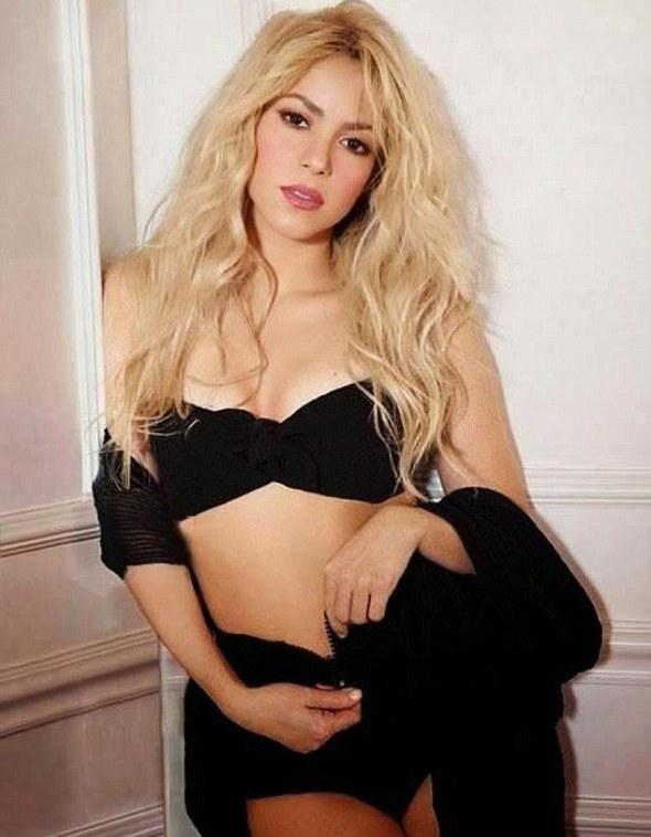 Shakira escreveria milhões de canções de amor a Piqué
