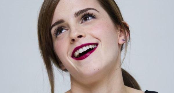 Emma Watson entusiasmada por envelhecer