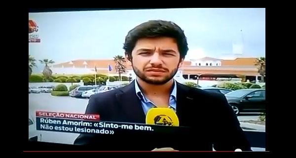 Jornalista Bola Tv desrespeita Ricardo Quaresma