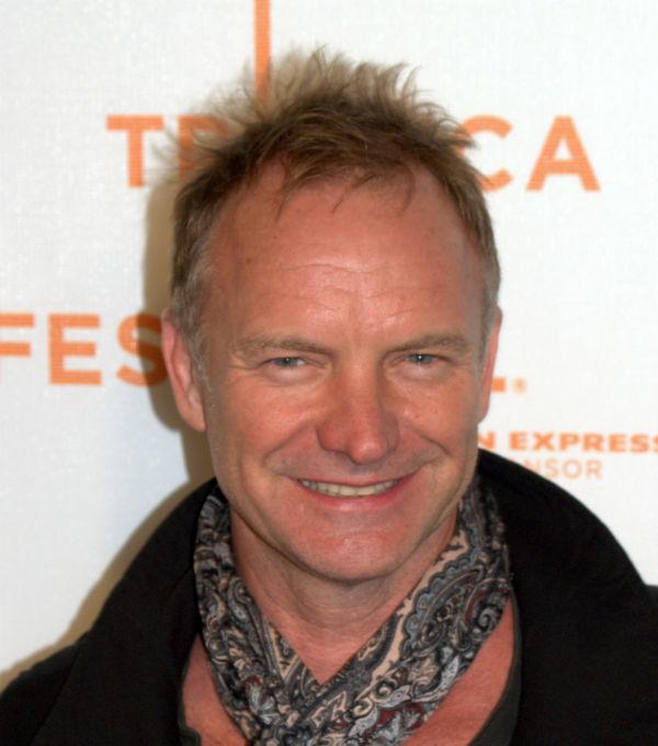 Sting não vai deixar fortuna aos filhos